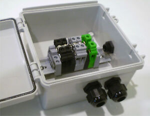 Details about 3-String Compact Solar Power Combiner Terminal Box