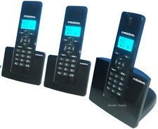 Northwestern Bell Cordless DECT 6.0 Three Phone Set Pack with Caller ID 31233-4