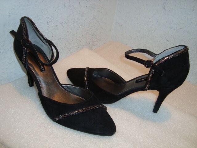 Bandolino Damenschuhe NWOB Signmeup Suede Heels Schuhes 6 MED NEU