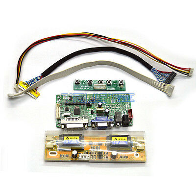 RTD2281 LCD Controller Board Kit DVI VGA Audio For 15″ XGA Monitor M270HVN02.2