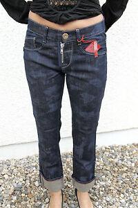 M-amp-F-GIRBAUD-jeans-first-boyfriend-bicolor-T-W26-36-38-NUEVO-precio-tienda