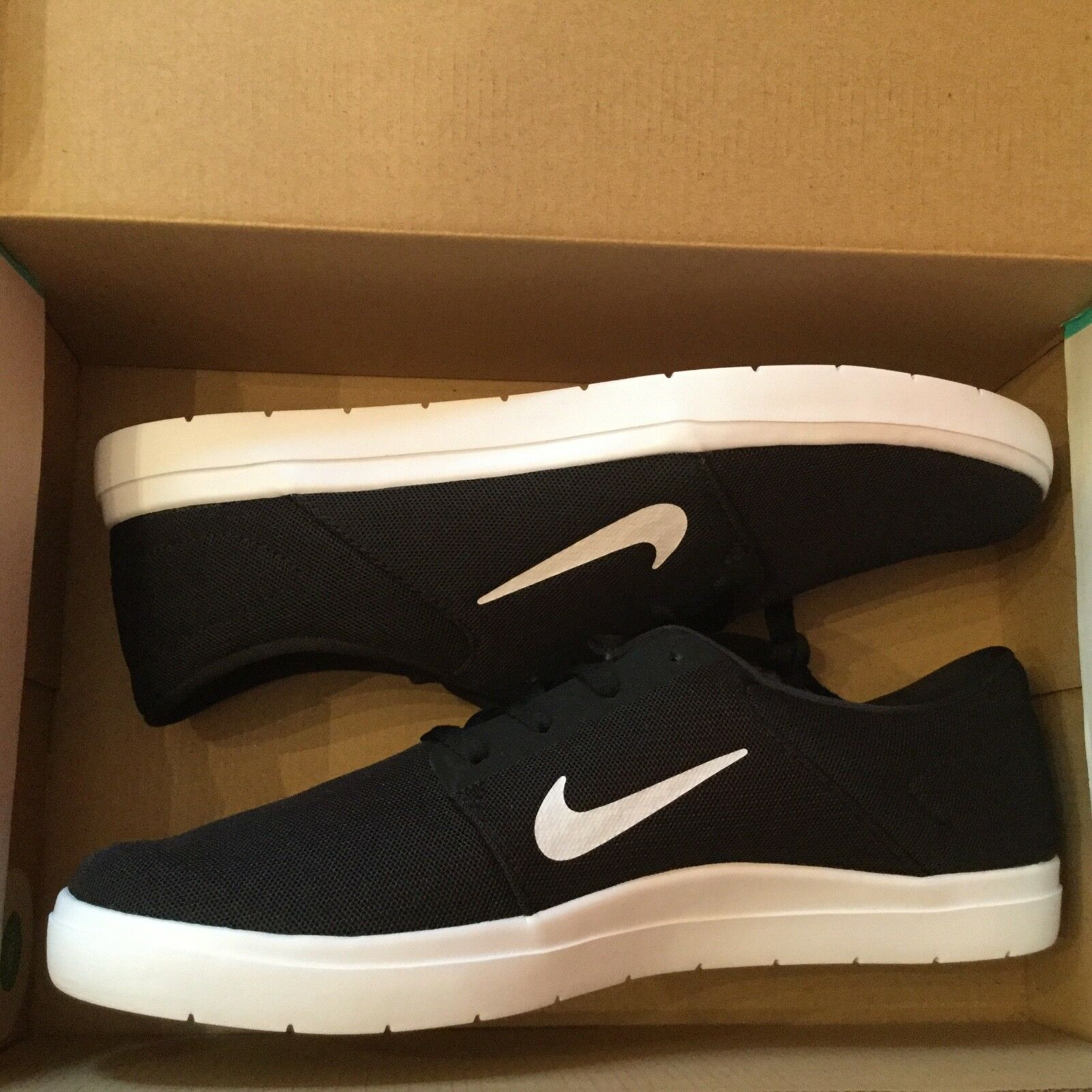 New Mens Nike SB portmore ultralight m Skateboarding Shoes 725041-013 Sz 6.5 The most popular shoes for men and women