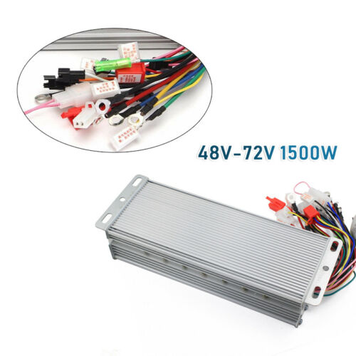 E-bike 48-72V 1500W Electric Bicycle Scooter Brushless DC Motor Speed Controller