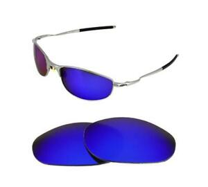 fc1704210d Details about NEW POLARIZED REPLACEMENT DEEP BLUE LENS FOR OAKLEY TIGHTROPE  SUNGLASSES