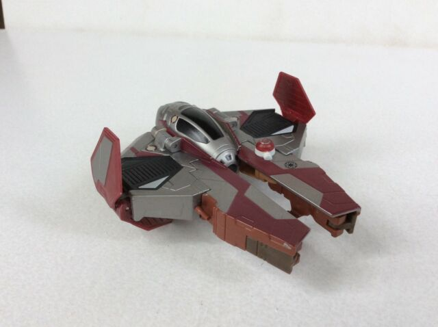 STAR WARS TRANSFORMERS OBI-WAN KENOBI - JEDI STARFIGHTER  Crossovers 2012
