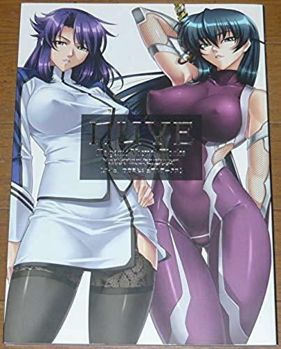 Taimanin Asagi Ninja NUYE Kagami Visual Works Art Book Bishoujo Anime Japan