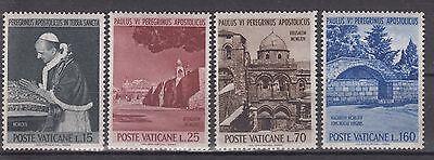 "Hohe Belastbarkeit Vatikan 1964 "" Papst Paul Vi "" Satz Nr 3 0639 442-45**"