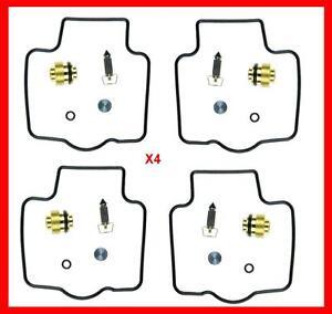 KR-Carburetor-Carb-Rebuild-Repair-Kits-x4-KAWASAKI-ZX-6R-ZX600F-95-97-CAB-K12