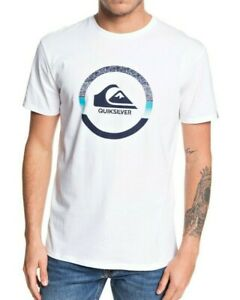 QUIKSILVER-MENS-T-SHIRT-SNAKE-DREAMS-WHITE-SHORT-SLEEVED-COTTON-TOP-TEE-9W-81-WB