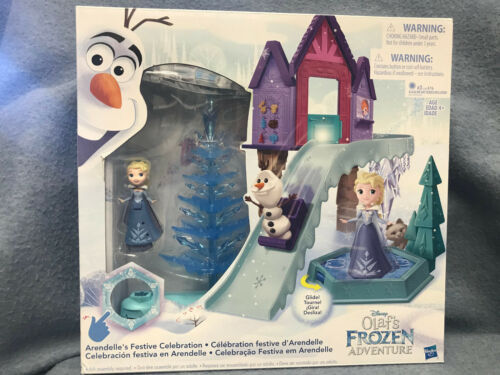Disney FROZEN Olaf/'s Adventure ARENDELLE/'S FESTIVE CELEBRATION Playset NEW