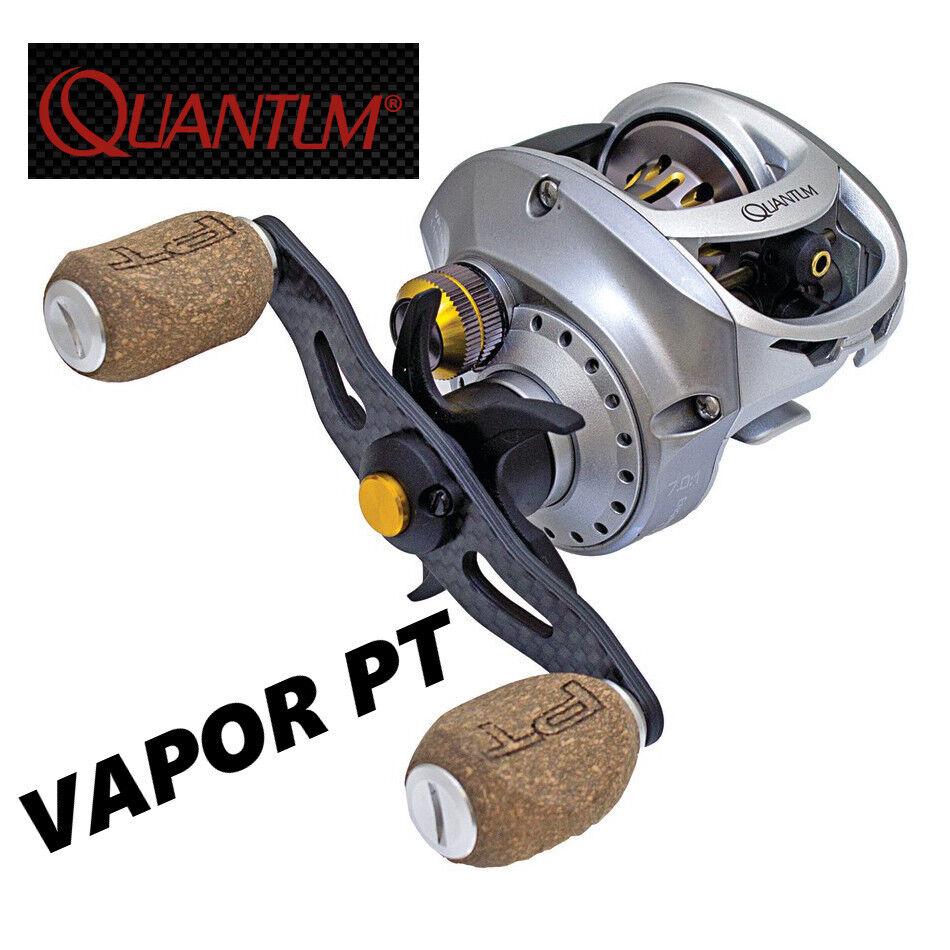 Quantum Vapor PT Baitcast Reel  Performance Tuned 7.0 1 Right Hand VP100HPT BX3  fitness retailer