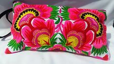 Hmong embrodered clutch bag  ibiza festival style