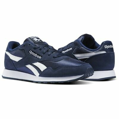 NEW Reebok Classic Men's Royal Ultra Fitness Shoes Navy Blue White Size 9.5 | eBay