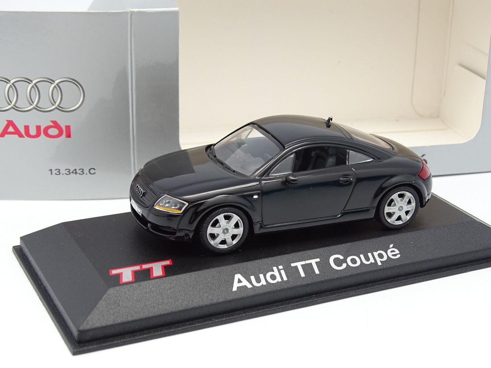 Minichamps Minichamps Minichamps 1 43 - Audi TT Coupe Negra 26092c