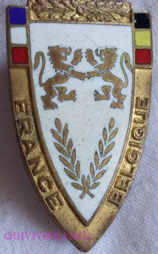 BG5967 - INSIGNE ATHLETISME FRANCE BELGIQUE