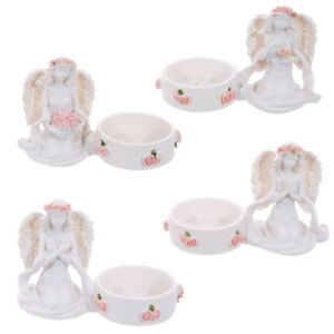 Angel-with-Roses-Headband-Tea-light-Holder-FREE-UK-P-amp-P