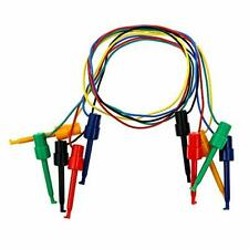 Dahszhi Testing Hook Clip Probe Test Leads Electronics Silicone Test Leads 50