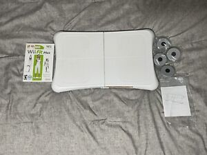 Nintendo Wii Bundle Balance Board With Wii Fit Plus Game