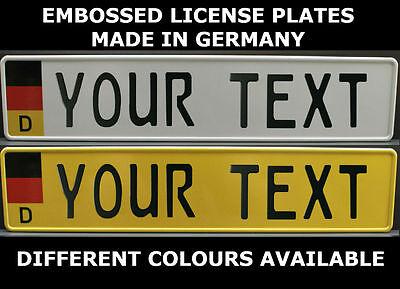 LIBERIA Flag Custom License Plate NATIONAL Emblem ORIGINAL Version