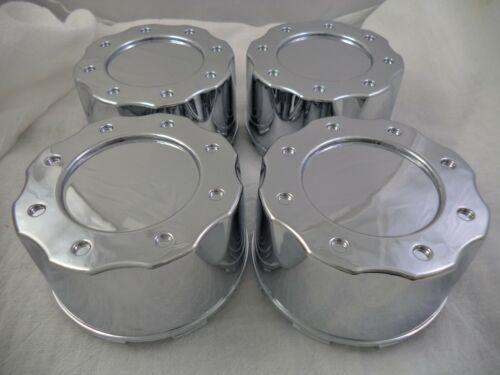 MB Motorsports Wheels Chrome Custom Wheel Center Cap # BC-670B NO LOGO 4 CAPS