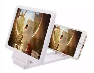 Amplificatore video 3D per schermo telefono smartphone lente di ingrandimento hd