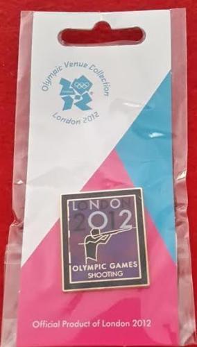 code 1751 Shooting Olympics London 2012 Venue Sports Logo Pictogram Pin