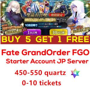 Buy-5-Get-1-Fate-Grand-Order-FGO-F-GO-Start-Account-450-550-quartz-japan-server