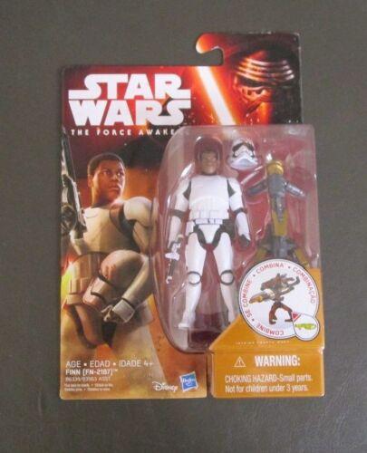 "FN-2187 Finn 3.75/"" 2015 STAR WARS The Force Awakens TFA MOC Bloody Helmet"