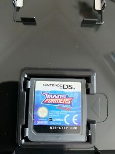 TRANSFORMERS-ANIMATED-NINTENDO-DS-2DS-3DS-PAL-CASE-amp-CART-ONLY