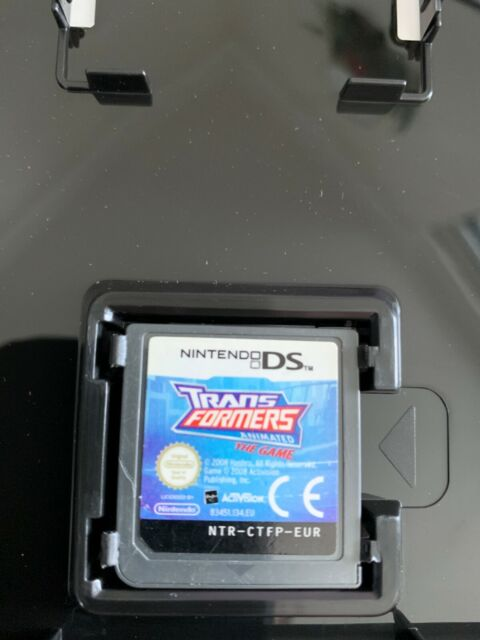 TRANSFORMERS ANIMATED NINTENDO DS 2DS 3DS PAL - CASE & CART ONLY