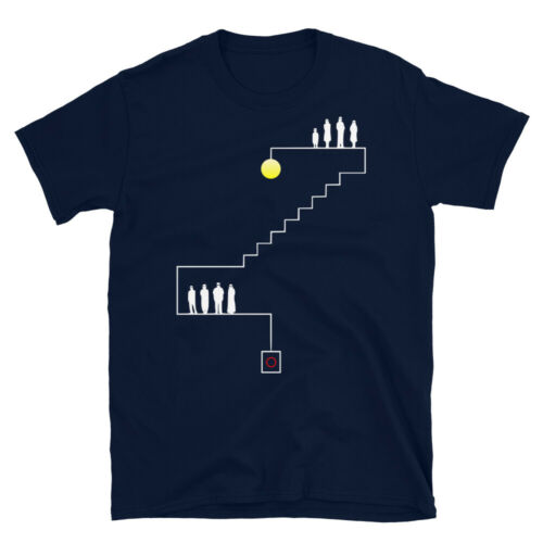 Parasite Movie Minimalist Stair Art 기생충 Unisex T-shirt