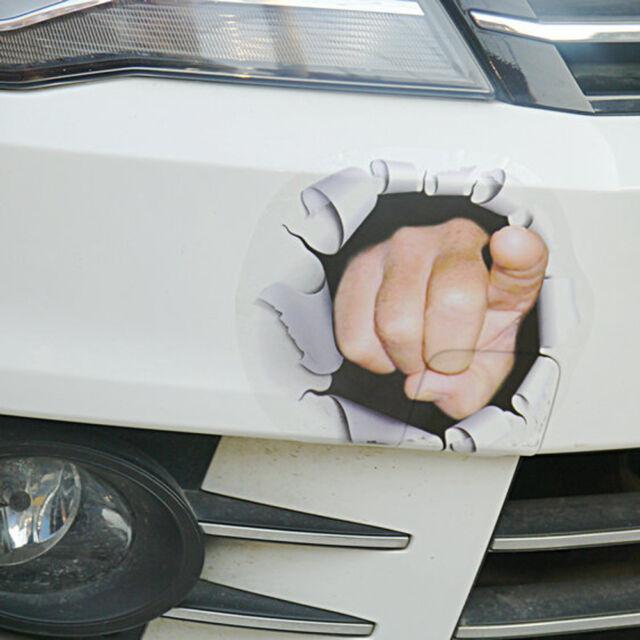 1PC 3D Car Truck Funny Vinyl Graphics Side Sticker Body Door Window Hole Decal