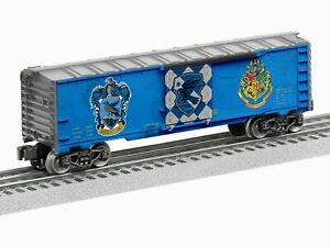 new in the box LIONEL 6-83939 HARRY POTTER HOGWARTS RAVENCLAW BOXCAR O GAUGE