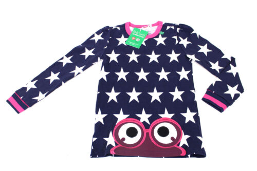 FRED´S WORLD Green Cotton Star Kinder Shirt Jersey 62-128 Baby Pullover Sterne