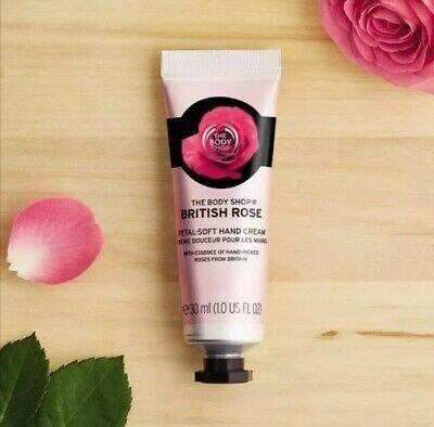 The Body Shop British Rose Petal Soft Hand Cream 100ml