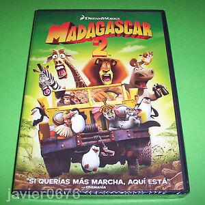 MADAGASCAR-2-DREAMWORKS-DVD-NUEVO-Y-PRECINTADO