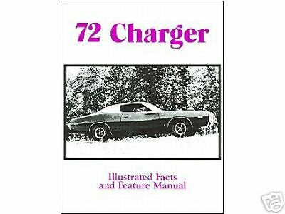 ILLUSTRATED FACTS 1972  72 DODGE CHARGER//RALLYE//S.E.