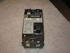 Square D FAL 2 pole 60 amp 480v FAL24060 Circuit Breaker BLACK
