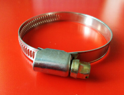 """STAINLESS STEEL HOSE CLIPS PIPE CLAMS 0.39/"""" - 0.62/"""" 10MM-16MM"""