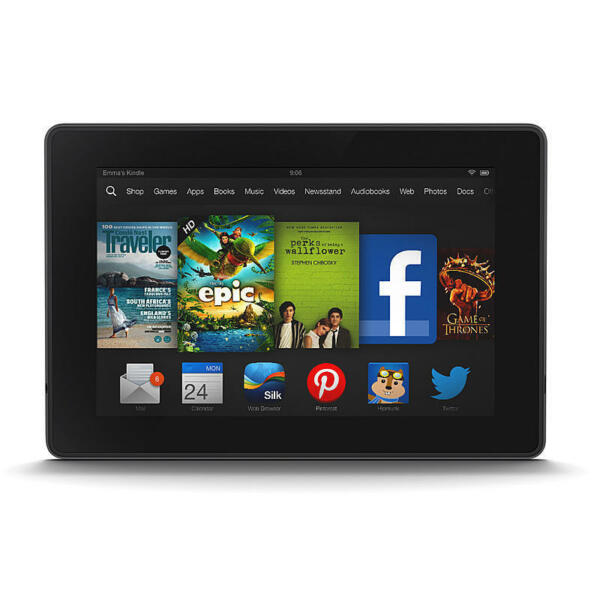 Amazon Kindle Fire HD 7-Inch Tablet With 16 GB Memory 2nd