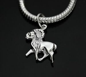 925-STERLING-SILVER-ARIES-ZODIAC-SIGN-PENDANT-CHARM-FOR-EUROPEAN-BRACELET