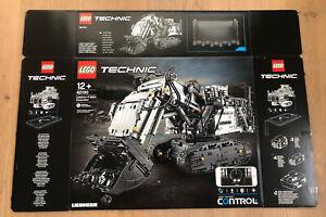 LEGO 42100 Technic Liebherr Bagger R 9800 Leerkarton/Box/Ovp NEU