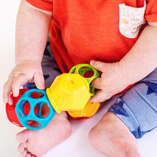 Clicky Twister Oball Greifling Rassel Baby Motorik Spielzeug