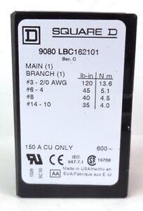 1 new Bussmann 16201-3 Power Distribution Block 3-Position 600V 150A 1//0-1
