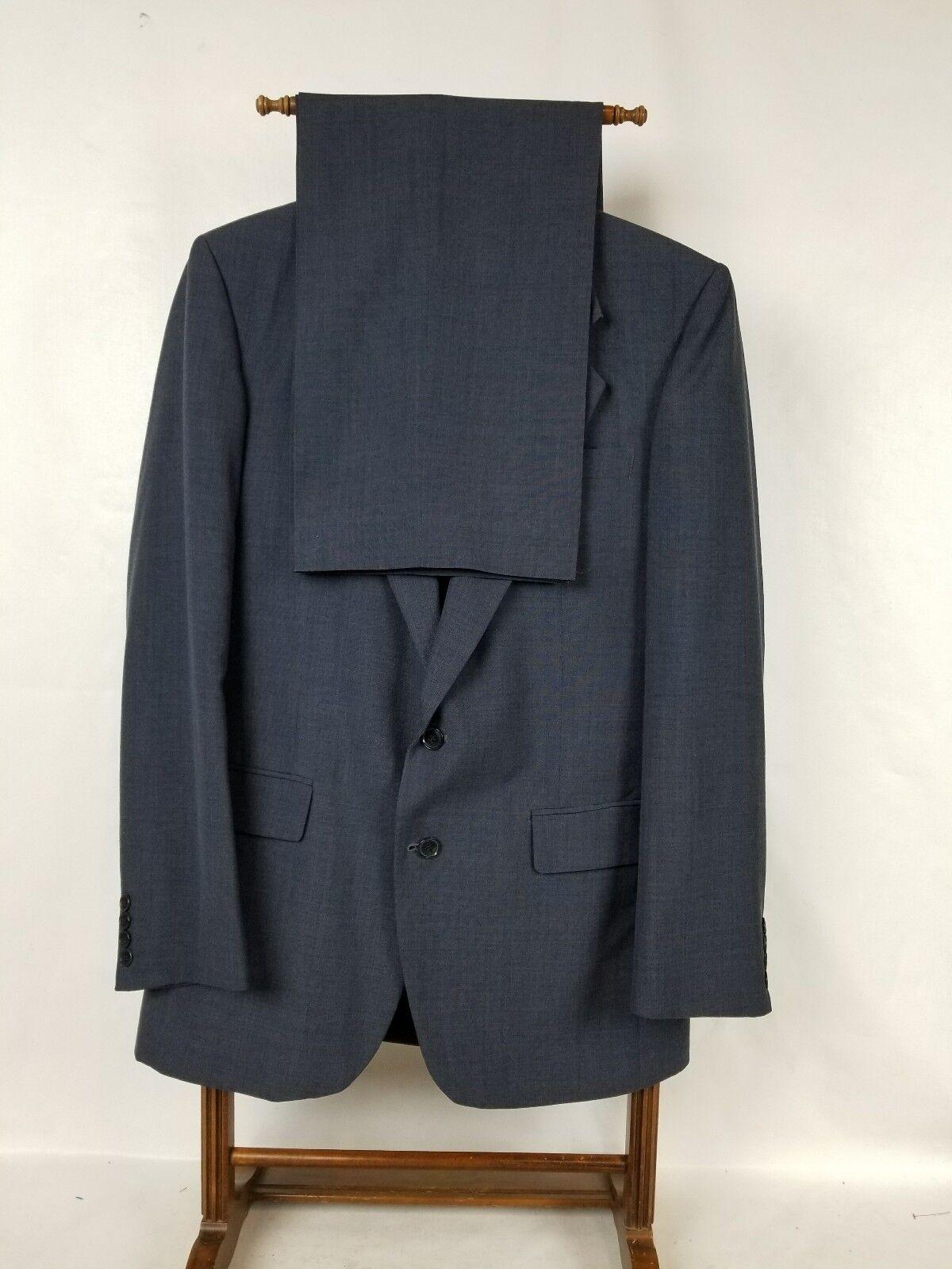 FARAH CLOTHING CO Herren SIZE 40L Blau SUIT PANTS W32X29.5