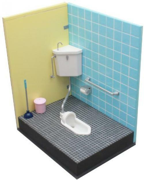 NEW 1 12 squat toilet of us (japan import) F S