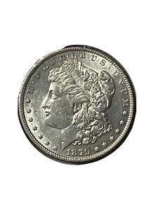 1879-Morgan-Silver-Dollar-1-US-Coin-AU