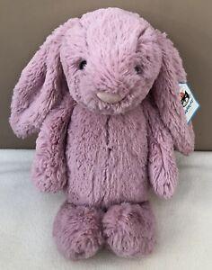 NEW-Jellycat-Medium-Bashful-Tulip-Bunny-Rabbit-Baby-Soft-Toy-Comforter-Pink-BNWT