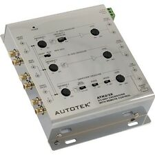 Autotek ATK2/3X 2 Way- 3 Way Active Crossover comes with Remote Bass Control