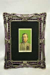 1911 T206 Ty Cobb Tobacco Card RP Green Period Frame Old Detroit Tigers Baseball